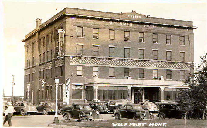 Many Photos Were Taken Of The Sherman Hotel Here Are A Few Them